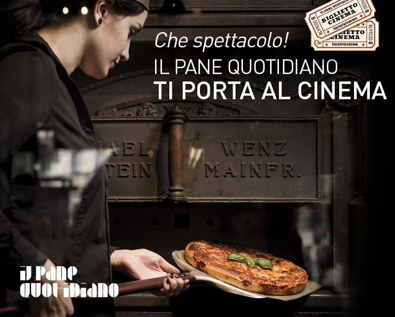 WHAT A SHOW! Il Pane Quotidiano takes you to the cinema.