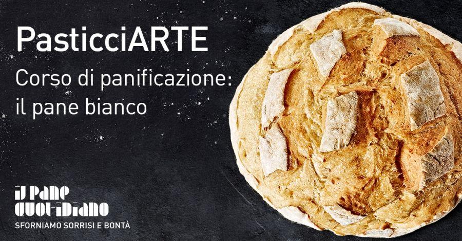 White bread dough