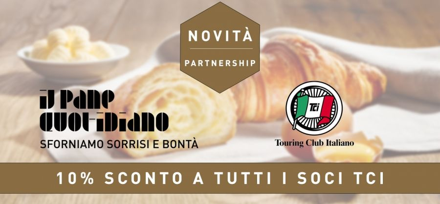 Siamo Partner del Touring Club Italiano