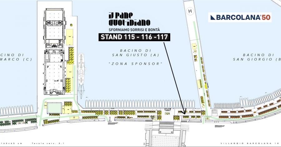 IPQ alla Barcolana 2018: stand di fronte a Piazza Unità