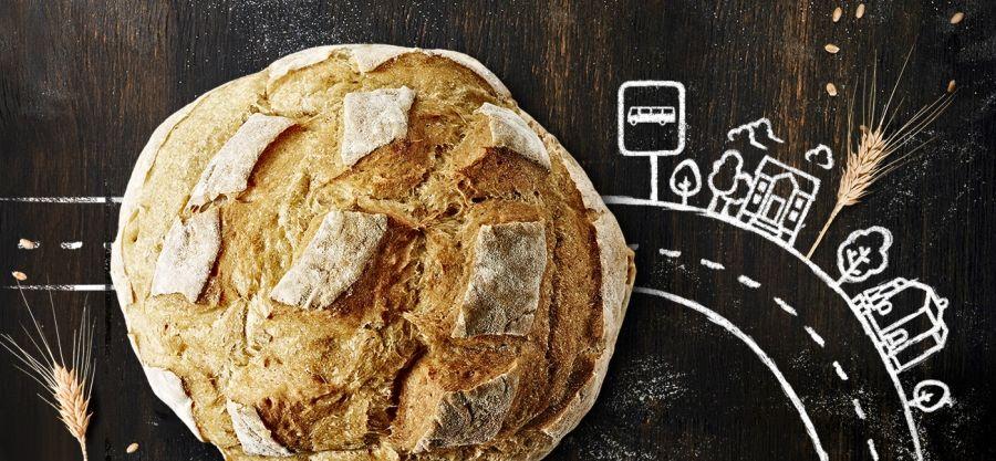 Il pane è ancora più buono se prendi il bus!